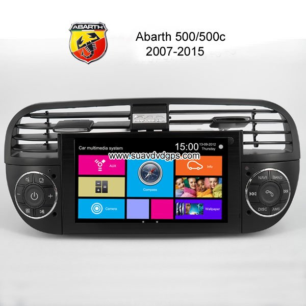 car gps dvd abarth series car dvd player gps navigation manufactory. Black Bedroom Furniture Sets. Home Design Ideas
