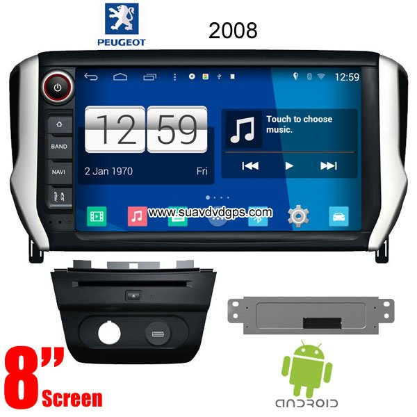 car gps dvd peugeot series android os dvd gps car dvd. Black Bedroom Furniture Sets. Home Design Ideas
