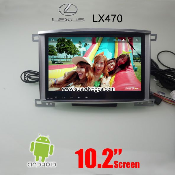 Lexus LX470 car radio Android wifi GPS navigation screen