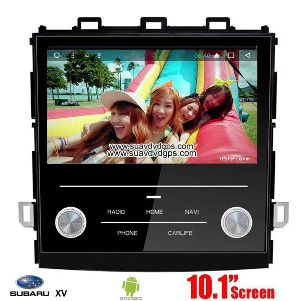 Subaru XV Car audio radio update android GPS navigation