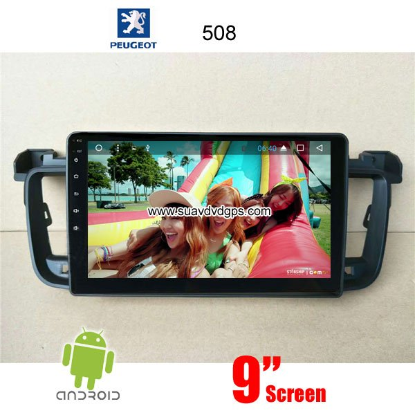 Pure Android GPS / Peugeot_Car dvd player GPS navigation