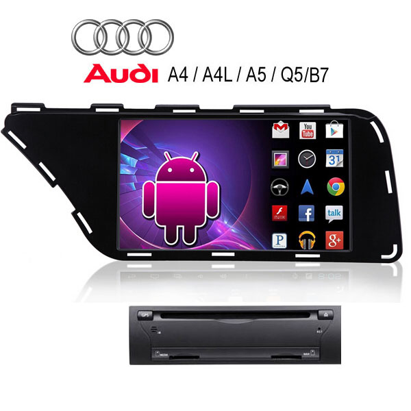 2015 Audi Q5 >> Android 4.4 Audi A5 A4 A4L Q5 stereo radio Car DVD Player ...