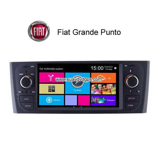 fiat grande punto radio car dvd gps tv bluetooth wifi 3g. Black Bedroom Furniture Sets. Home Design Ideas