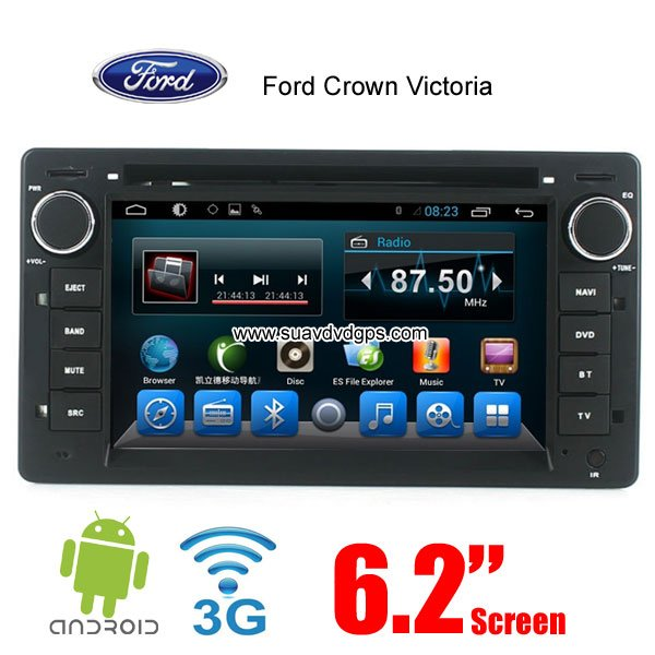 Ford Crown Victoria Android 44 Car Radio Wifi 3g Dvd Gps Player Rhsuavdvdgps: Ford Crown Vic Radio At Gmaili.net