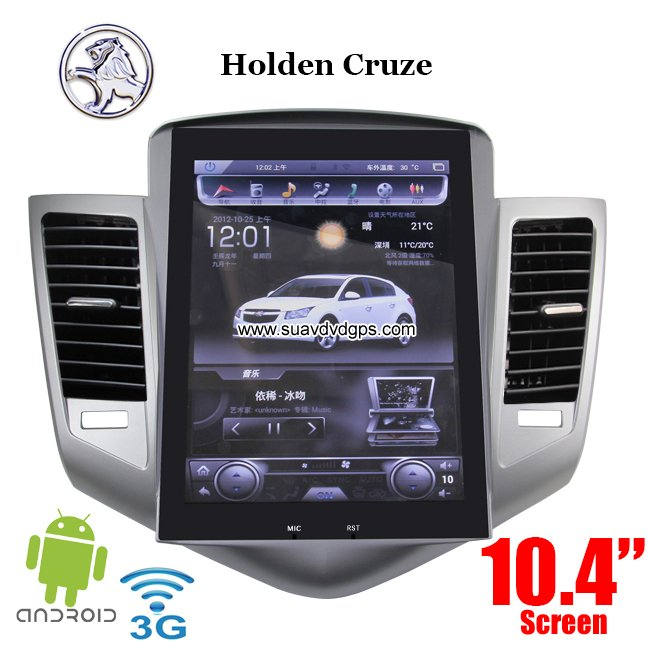 Holden Cruze Radio Car Pc Pure Android 4 4 Wifi 3g Gps