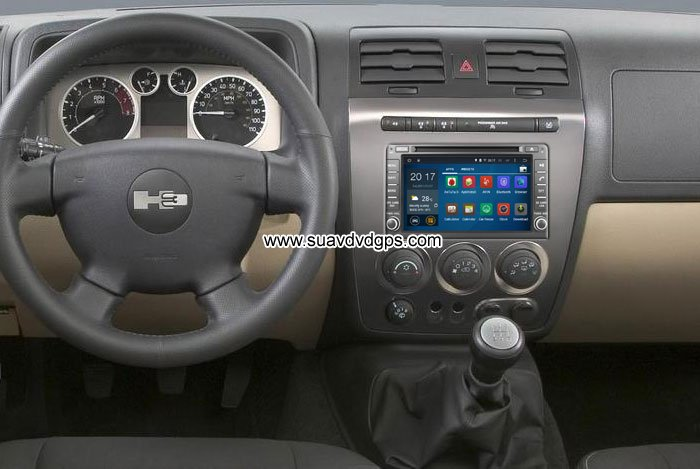 Hummer H3 Android Car Radio WIFI 3G DVD player GPS multimedia_Car