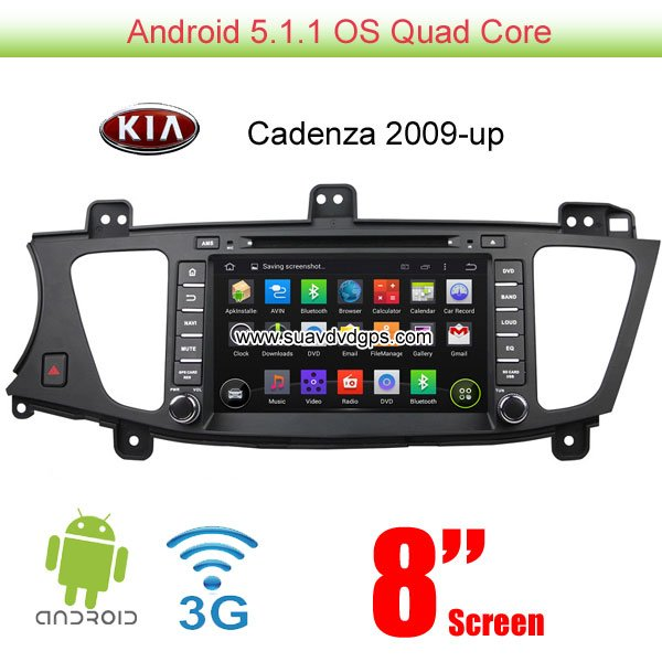 kia cadenza android car radio wifi 3g dvd player gps multimedia car rh suavdvdgps com Cadenza 2017 Cadenza Interior
