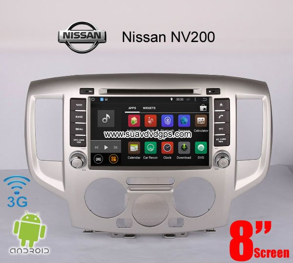 Nissan NV200 upgrade Car stereo radio android wifi GPS 3G