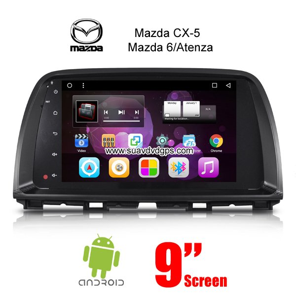 mazda cx-5 atenza 6 car radio stereo gps android 6.0 wifi camera